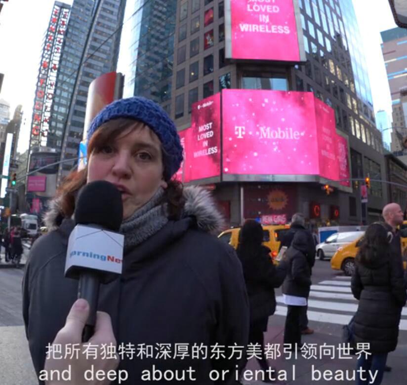 纽约时代广场街头采访服务介绍